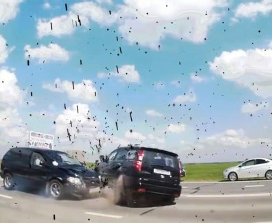 Mad Driving Car Crashes Compilation