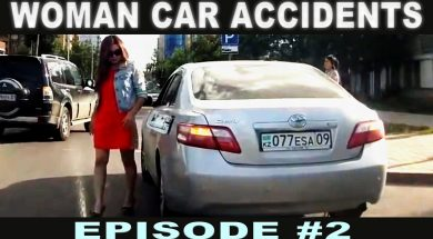 Woman Car Crashes Compilation