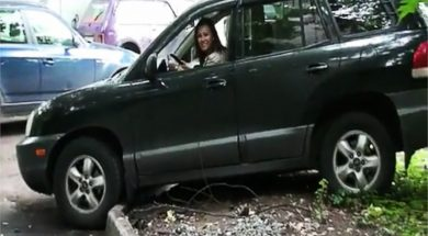 Woman Parking Skills – Fail Compilation