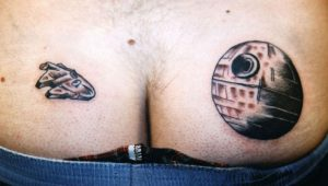 thats no moon star wars tattoo