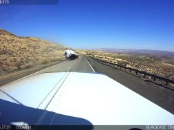 Speeding While Hauling a Camper Ends In A Crash