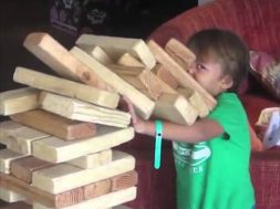 Big Jenga Fail