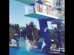Diving Board Fail