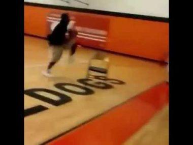 Basketball Dunk Fail