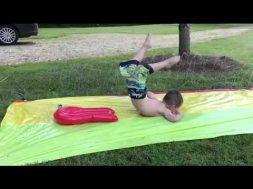 Slip-n-slide Fail