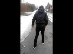 Slipping on Ice Fail